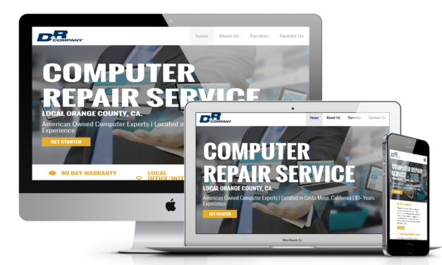 WordPress Development – Computer Repair Company